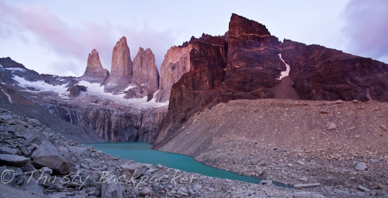 The pay off - Torres Del Paine.