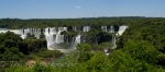 The Iguaçu Falls - seen for the first time.
