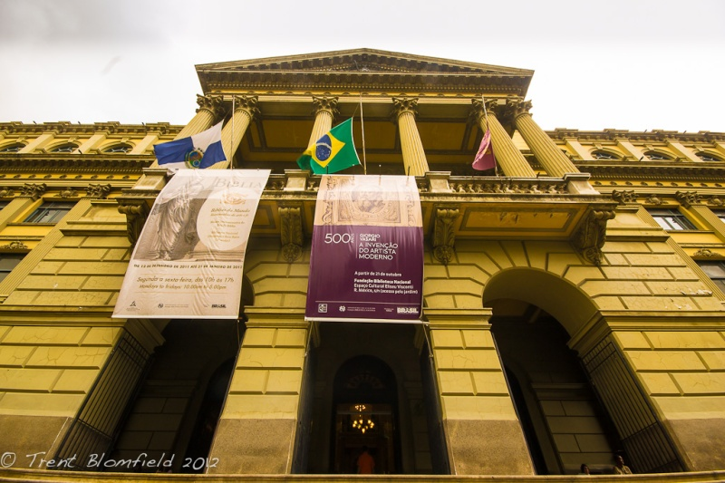 Biblioteca Nacional - The National Library of Brazil.