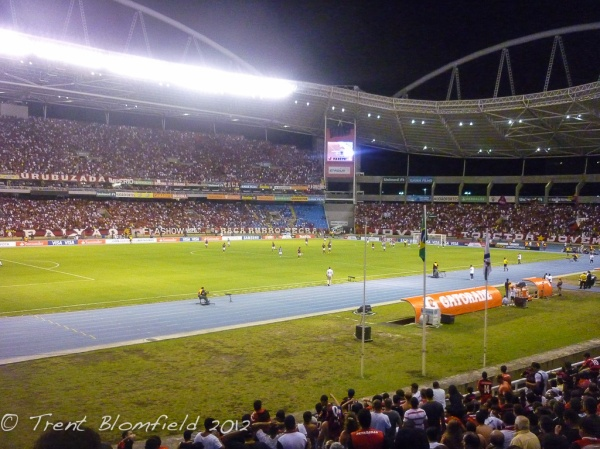 The stadium where Flamengo played. Its no maracana but.